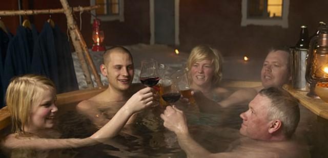 Hyra badtunna i Sälen